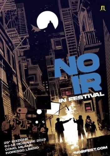 La locandina del Noir in Festival 2019