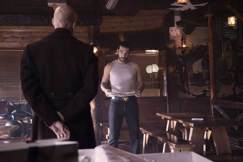 Una scena del film Gli uomini d'oro