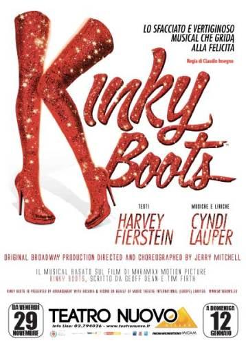 locandina 2019 del musical Kinky Boots