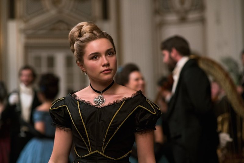 Amy March (Florence Pugh) nel film di Greta Gerwig. Photo: courtesy of Sony Pictures.