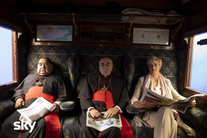 The New Pope. Photo credit: Gianni Fiorito