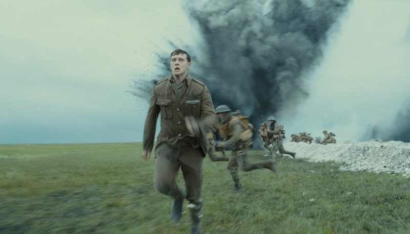 George MacKay è Schofield nel film 1917 - Photo: courtesy of 01 Distribution