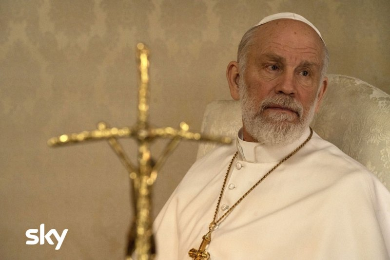 The New Pope episodi 3 e 4: John Malkovich © Gianni Fiorito.