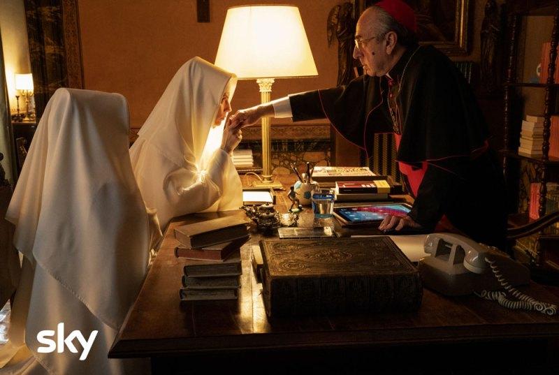 The New Pope episodi 3 e 4: Silvio Orlando nei panni del Cardinal Voiello © Gianni Fiorito