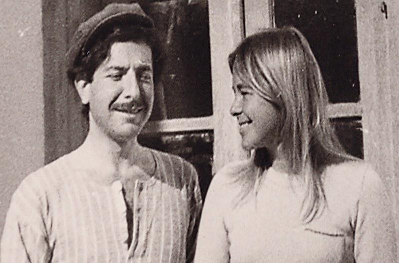 Leonard e Marianne Copyright Aviva Layton