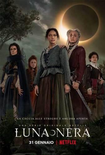 Luna Nera stagione 1 poster serie tv Netflix
