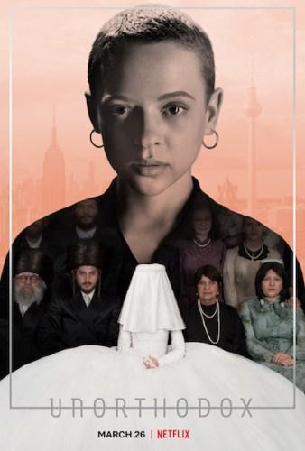 Unorthodox Netflix poster serie tv
