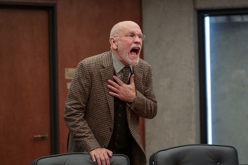 JOHN MALKOVICH in una scena dell' episodio 8 della serie SPACE FORCE - Cr. AARON EPSTEIN/NETFLIX © 2020