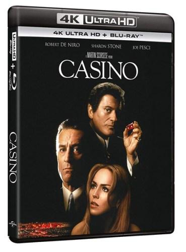 la cover del bluray del film CASINO