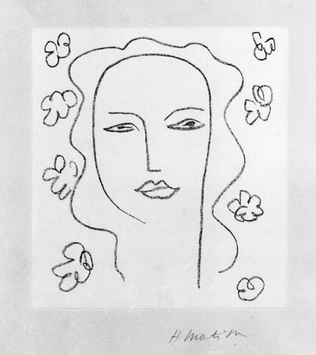 Henri Matisse (Cateau Cambrésis 1869 – Nizza 1954), La Sainte Vierge, 1951, litografia; © Governatorato SCV Direzione dei Musei