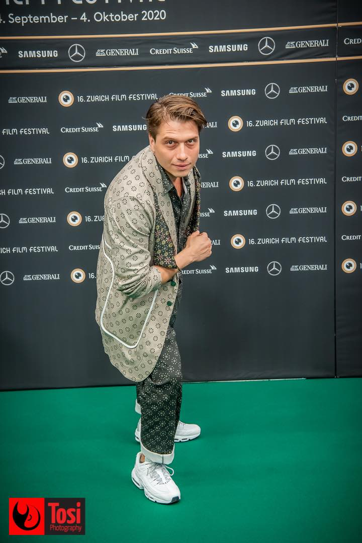 ZFF 2020 - actor Dimitri Stapfer © Tosi Photography