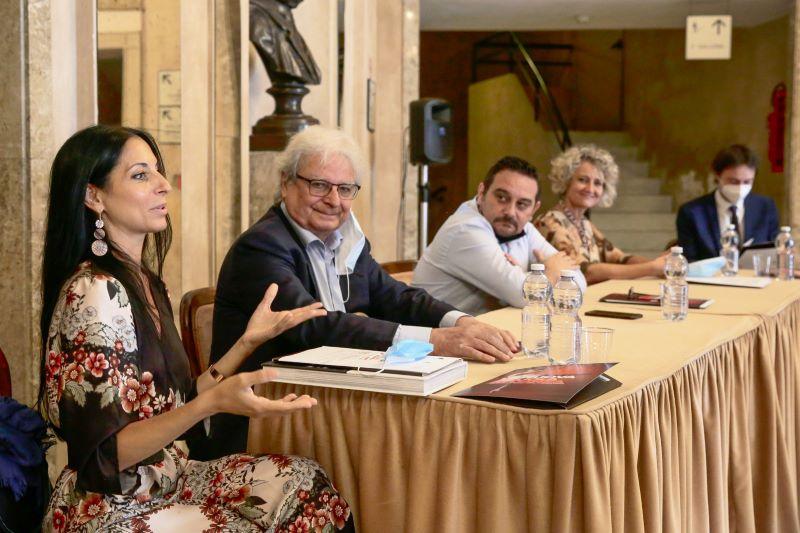 Un momento della conferenza stampa della STM di Novara (foto ufficio stampa)