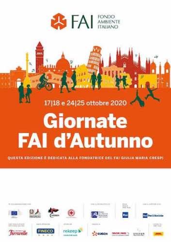Giornate FAI d'Autunno 2020 poster
