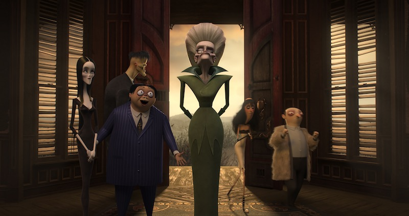 LA FAMIGLIA ADDAMS © 2019 Metro-Goldwyn-Mayer Pictures Inc. All Rights Reserved.
