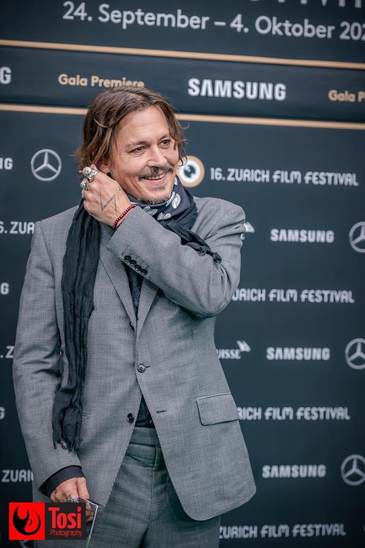 ZFF 2020 - Johnny Depp sul green carpet © Tosi Photography