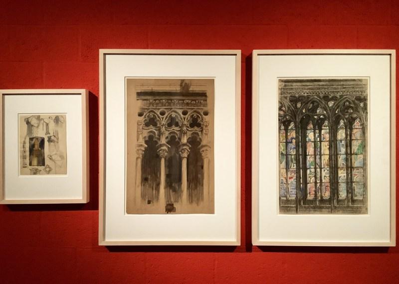 I disegni giovanili di Le Corbusier, alcune opere in mostra. Photo: MaSeDomani.