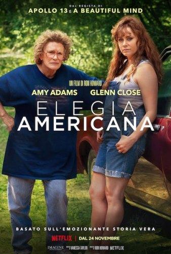 Elegia Americana poster film Netflilx