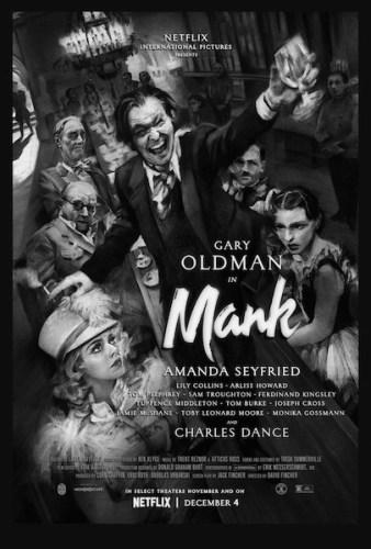 Mank poster film Netflix