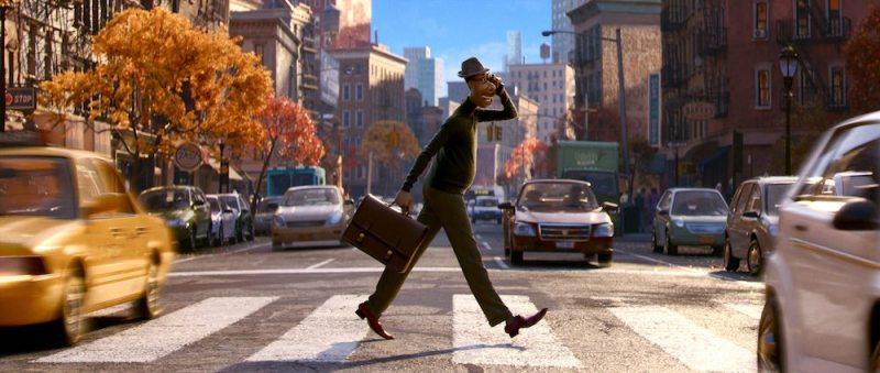 Una scena di SOUL, il film su Disney Plus dal 25 dicembre © 2020 Disney/Pixar. All Rights Reserved.