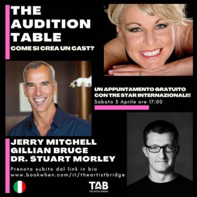The Audition Table locandina