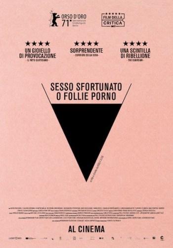 Sesso sfortunato o follie porno poster italiano