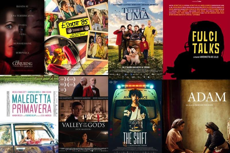 i film al cinema dal 3 giugno
