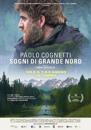 poster cognetti SOGNI DI GRANDE NORD poster film