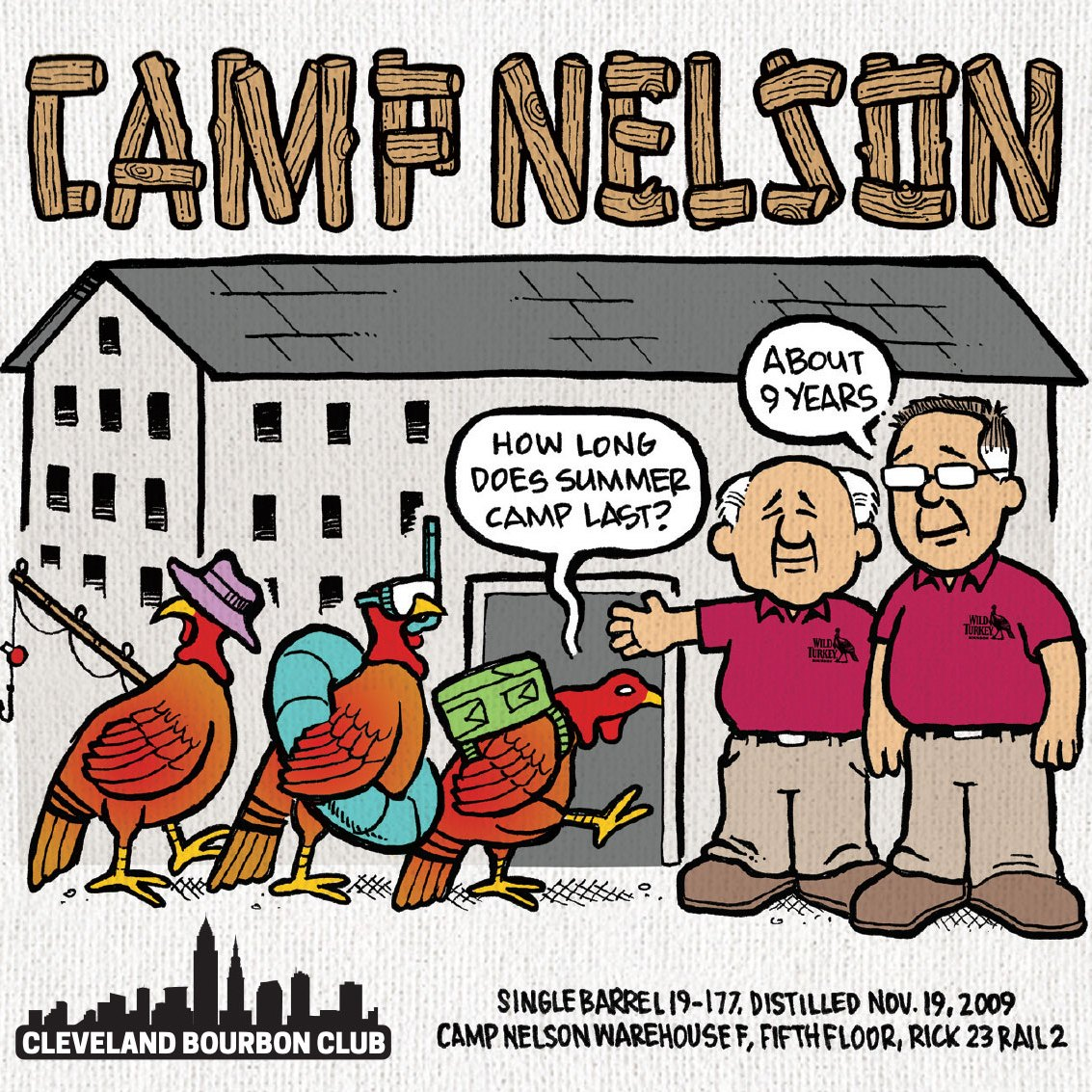 Camp Nelson Bourbon Label