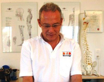 Andreas Masero, Therapeut für ESB-APM uns ORK nach Radloff