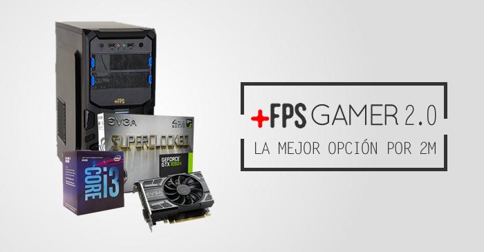 MásFPS Gamer v2.0, menor precio. Mayor Rendimiento.