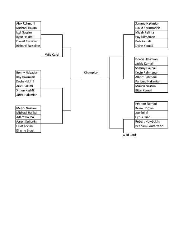 Mashadi Open 2013 Doubles Brackets