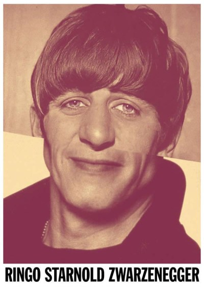 16 Celebrity Mash-ups - Ringo Starnold Zwarzenegger