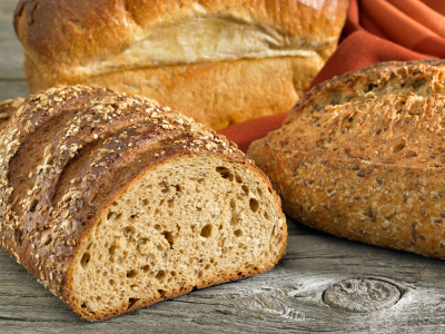 Sourdough oatmeal potato bread
