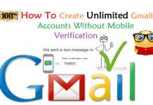 How To Create Many Gmail Account Without Mobile Number Verification