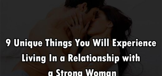 a relationship with strong women