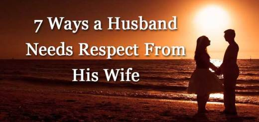 Husband Needs Respect From His Wife
