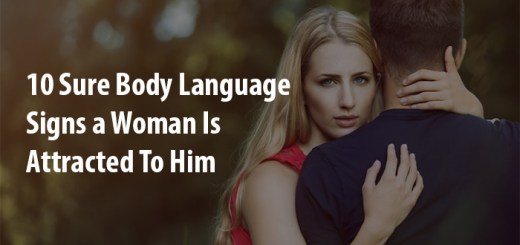 woman is attracted to him