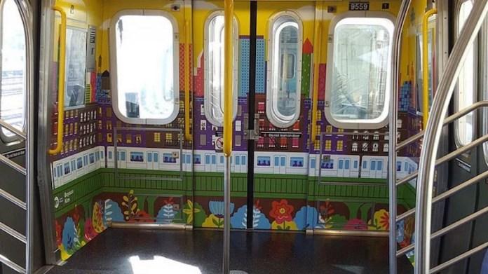 MTA 座席撤去