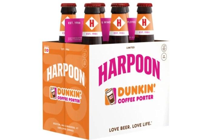 Harpoon Dunkin Coffee Porter