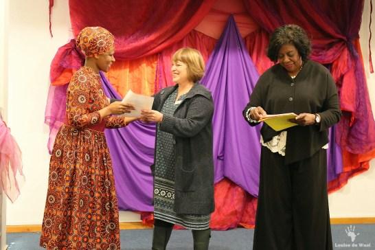 Presentation certificates by Fiona Maitland