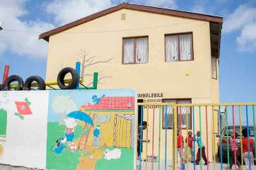 Doreen Zanyiwe's Crèche and Day Care Center - one of our first projects