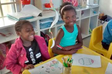 First steps in art at Masi Educare - Masicorp ECD
