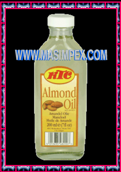 KTC Pure Almond Oil 200ml INDIAN AND AFRICAN GROCERY STORE