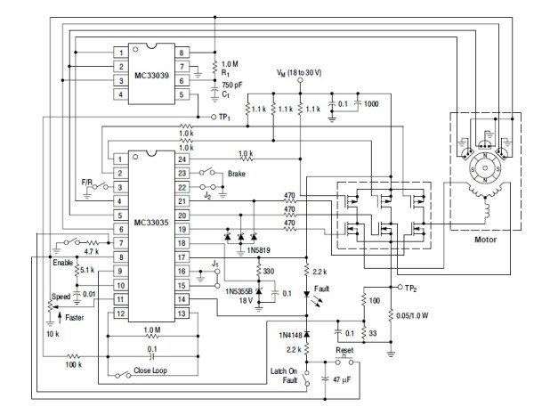 diy bldc motor controller