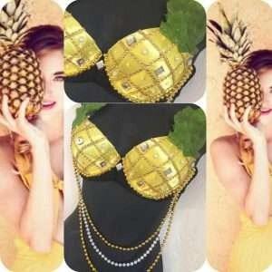 ananas kostm selber machen diy ideen amp anleitung
