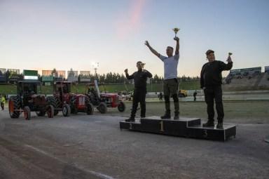 Målilla topp-3 podium