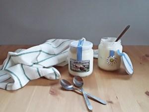 Yogurt-naturale Mas la Grisota Valle dei Mocheni