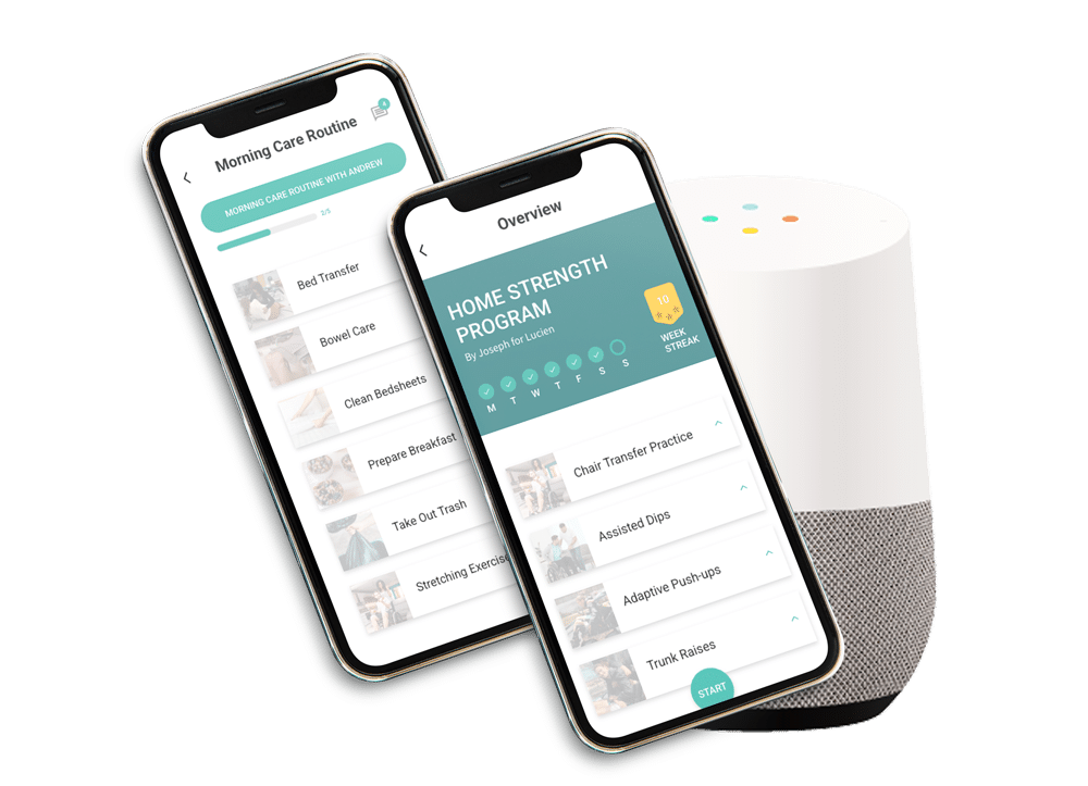 Maslow with google home image