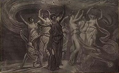 Mitología de las Pleyades