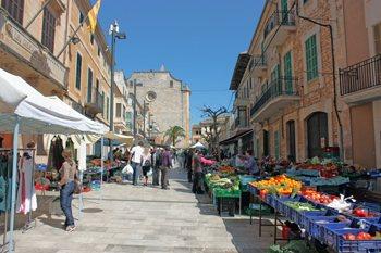 Santanyí Markt, Mallorca